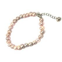 Bracelet en perle de culture forme naturelle
