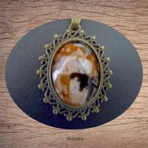 Maolia - Sautoir cabochon petite japonaise