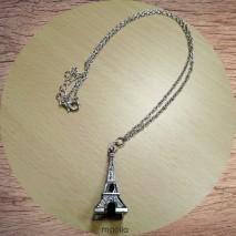 Maolia - Collier Tour Eiffel argentée