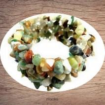 Maolia - Bracelet multigemme
