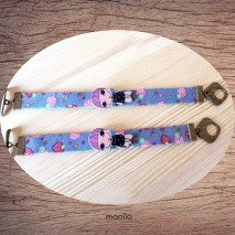Maolia - Bracelet bleu fillette et fruits