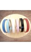 Bracelet couleur synthétique qualité premium