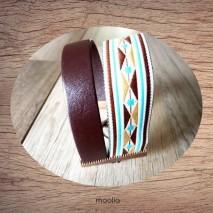 Bracelet manchette Incas