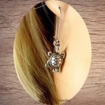 Boucles d'oreilles tortue