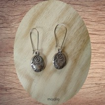 "Boucles d'oreilles ""follow your dreams"""