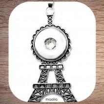 Pendentif pression Tour Eiffel