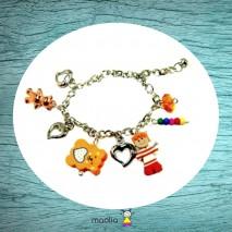 Bracelet gamin tee-shirt à rayures