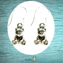Boucles d'oreilles nounours