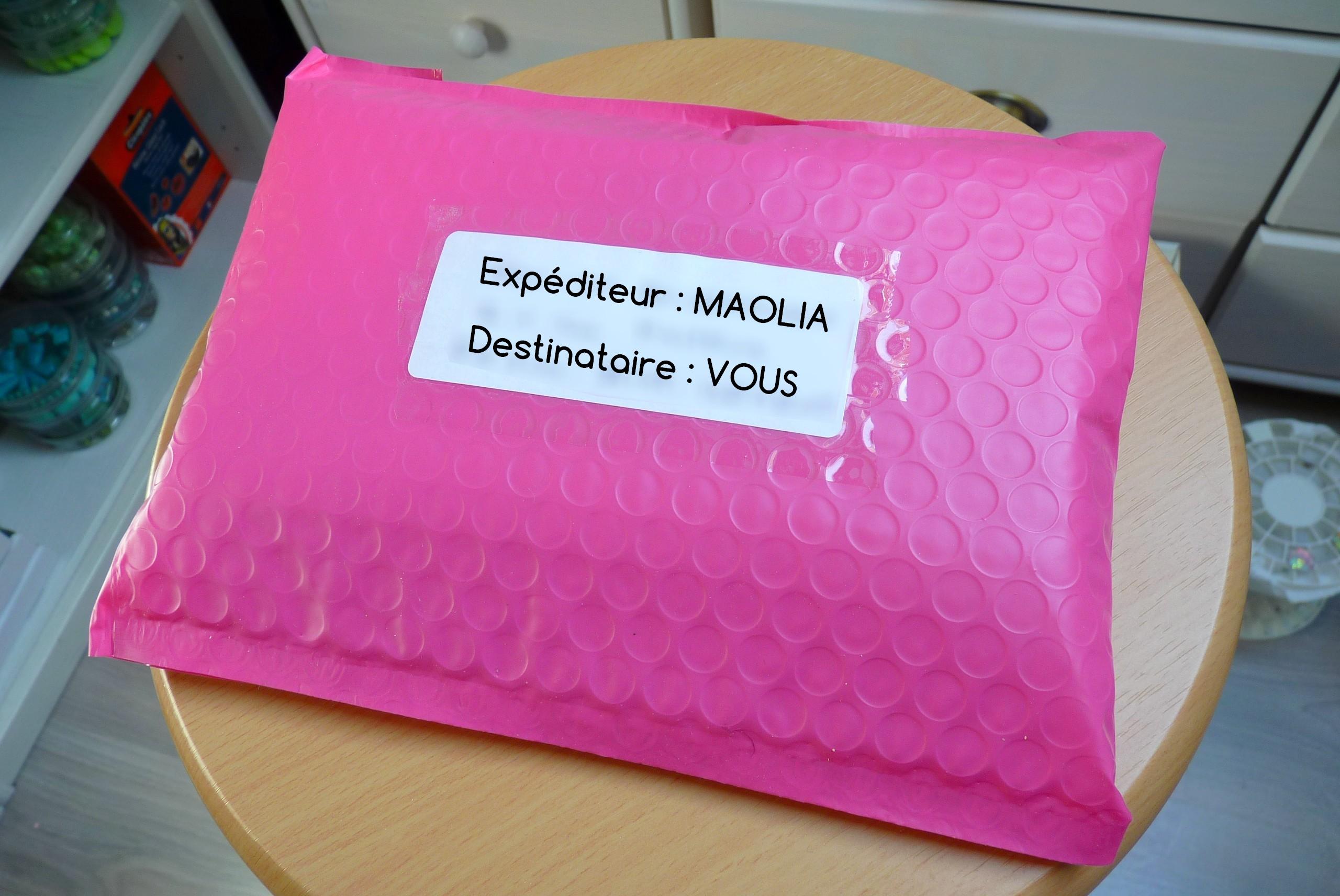 Envoi commande Maolia